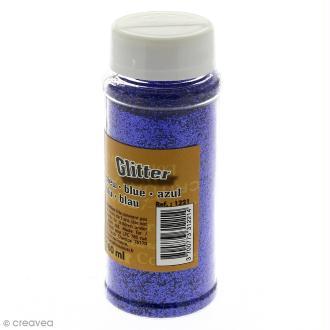 Paillettes Glitter Bleu - Salière de 160 ml