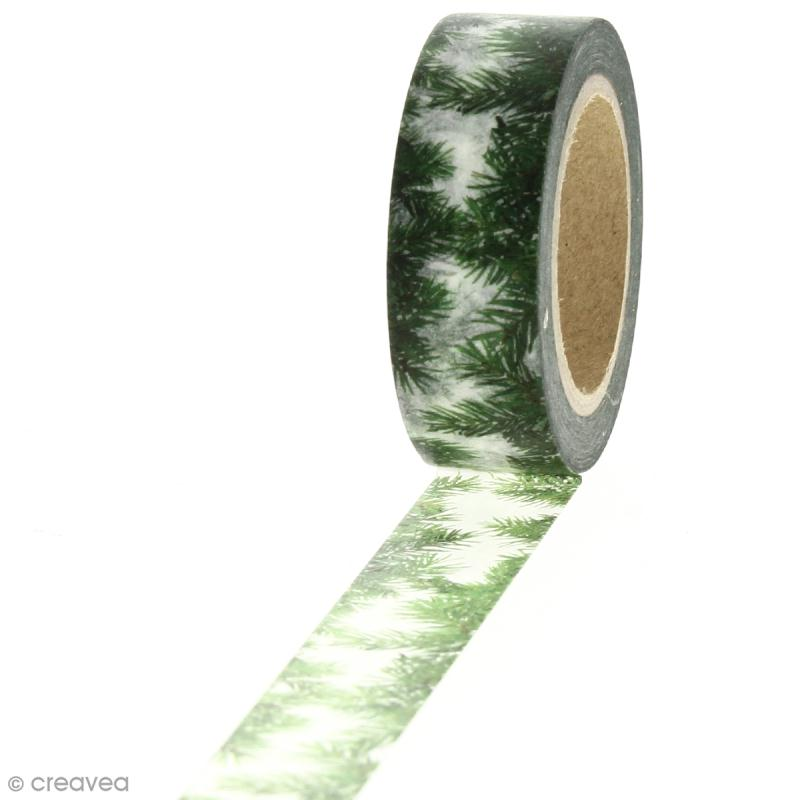 Masking tape - Jungle - 1,5 cm x 10 m - Photo n°1