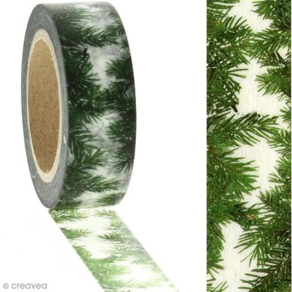 Masking tape - Jungle - 1,5 cm x 10 m - Photo n°2