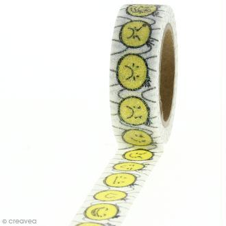 Masking tape - Smiley - 1,5 cm x 10 m