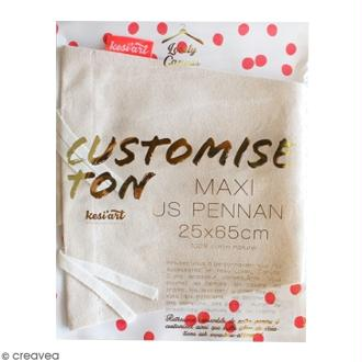 Maxi Fanion US à décorer - 25 x 65 cm