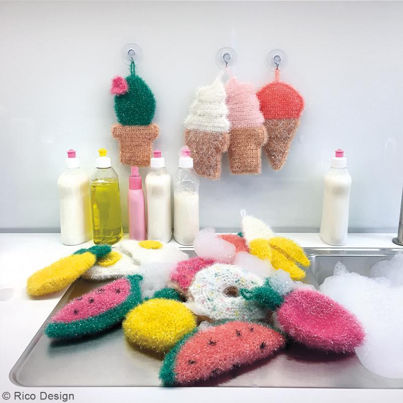 Creative Bubble - Fil à crocheter pour éponge - 50 g - Photo n°5