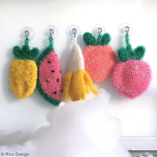 Creative Bubble - Fil à crocheter pour éponge - 50 g - Photo n°6