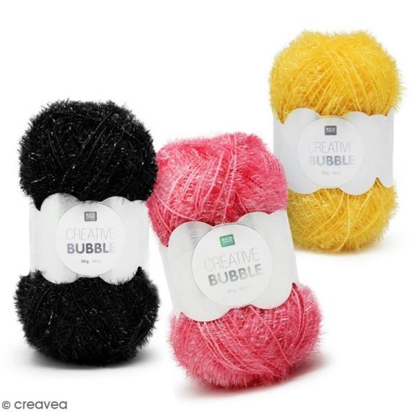 Creative Bubble - Fil à crocheter pour éponge - 50 g - Photo n°1