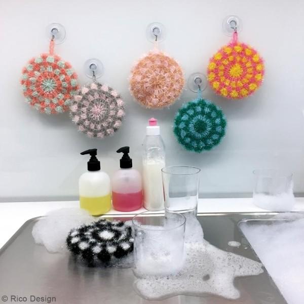 Livre Creative Bubble Eponges à crocheter - Thème Funny - 21 x 24 cm - Photo n°2