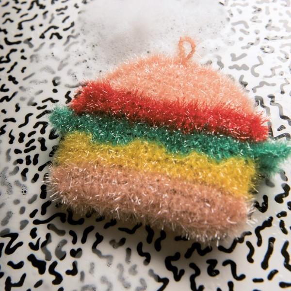 Livre Creative Bubble Eponges à crocheter - Thème Yummy - 21 x 24 cm - Photo n°3