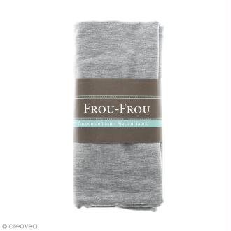 Coupon tissu Jersey - Gris perlé (616) - 150 x 60 cm