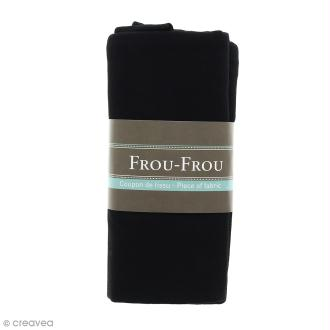 Coupon tissu Jersey - Noir de Jais (700) - 150 x 60 cm