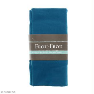 Coupon tissu Jersey - Bleu Bora Bora (711) - 150 x 60 cm