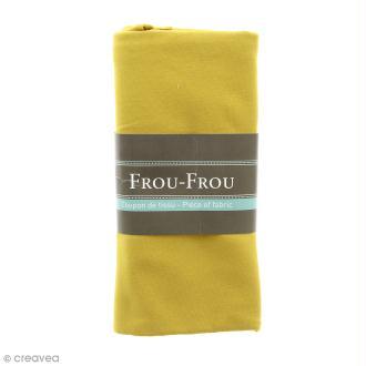 Coupon tissu Jersey - Jaune Poussière d'or (713) - 150 x 60 cm