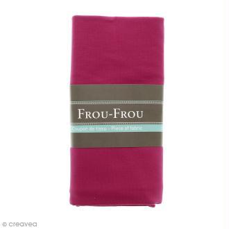 Coupon tissu Jersey - Rose Fuchsia (718) - 150 x 60 cm