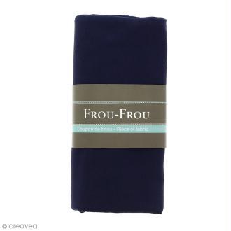 Coupon tissu Jersey - Bleu Navy (720) - 150 x 60 cm