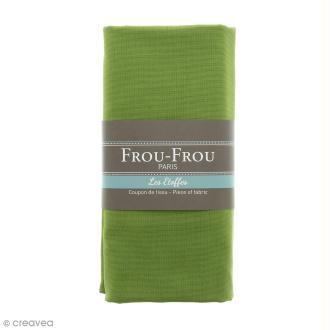 Coupon tissu Toile Coton  - Vert Jardin d'Oliviers (712) - 150 x 100 cm