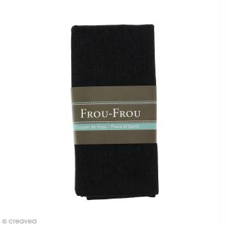 Coupon tissu Jean - Noir de Jais (700) - 145 x 60 cm