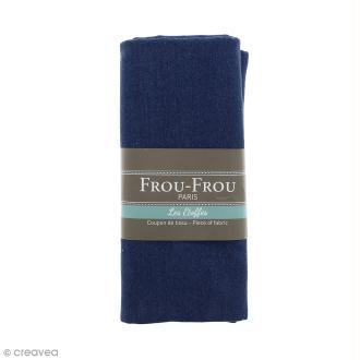 Coupon tissu Jean - Bleu Ardoise cendrée (703) - 145 x 60 cm