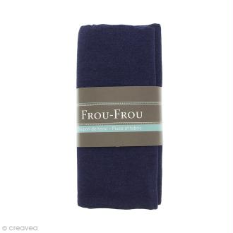 Coupon tissu Jean - Bleu Navy (720) - 145 x 60 cm