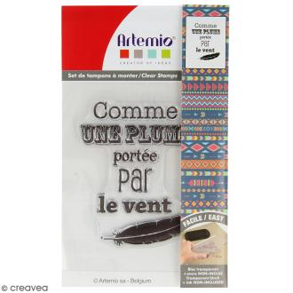 Tampon clear Artemio - Comme une plume
