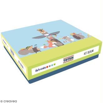 Kit album Scrapbooking - Totem