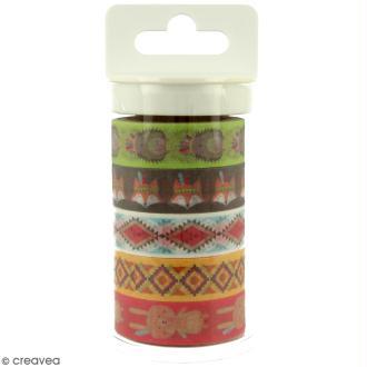 Masking tape Artemio - Totem Grand Manitou - 15 mm x 5 m - 5 pcs
