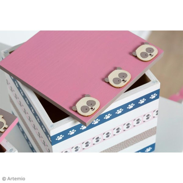 Set de mini silhouettes en bois Adorable - 27 pcs - Photo n°2
