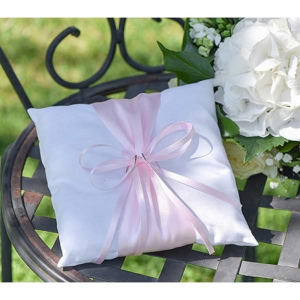 Ruban double en satin Pink, largeur 6 mm, longueur 20 m, rouleau décoratif - Photo n°2
