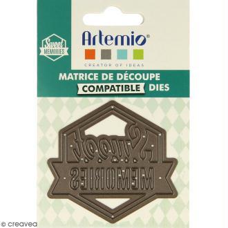 Die Artemio Sweet Memories - 1 matrice de découpe
