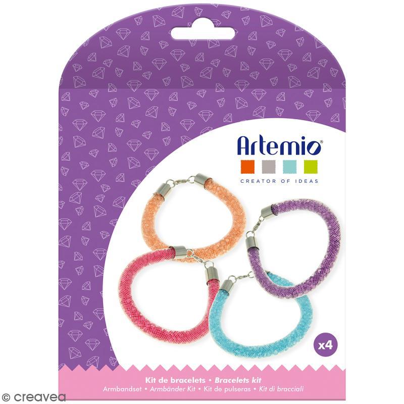 Kit bracelets à perles Artemio - 4 pcs - Photo n°1