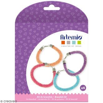 Kit bracelets à perles Artemio - 4 pcs