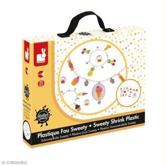 Coffret créatif bijoux Plastique Fou - Sweety