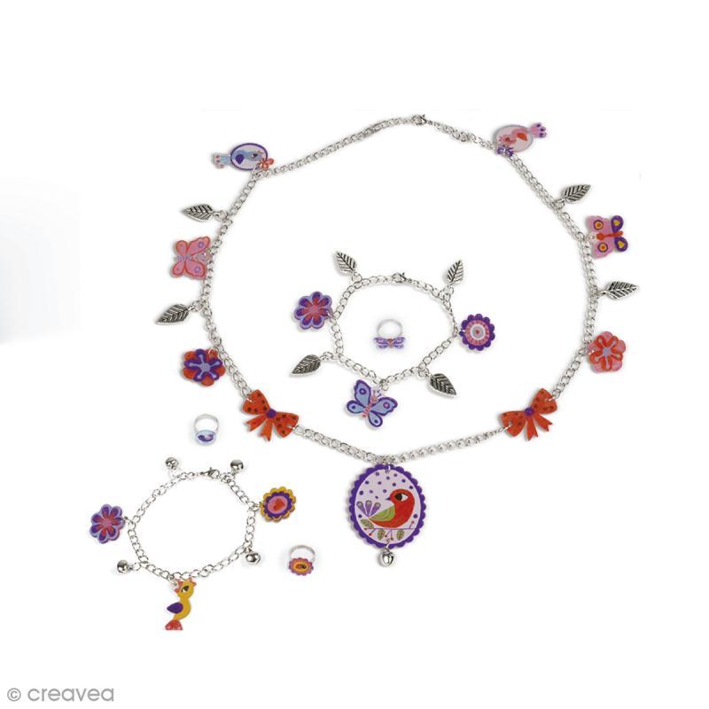Coffret créatif bijoux Plastique Fou - Liberty - Photo n°2