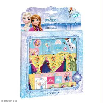 Décoration de Stickers - La reine des neiges - 3 feuilles