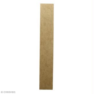 Lettre en bois géante 50 cm - I