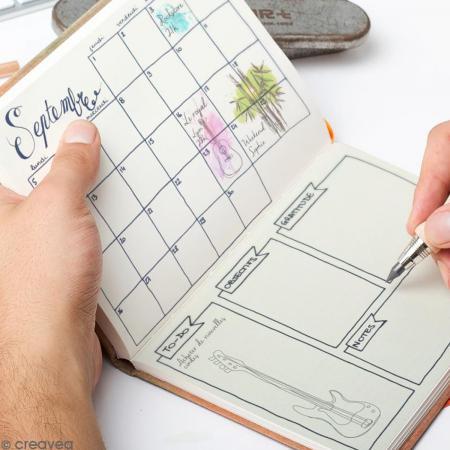 kit complet bullet journal a4 bullet journal creavea. Black Bedroom Furniture Sets. Home Design Ideas