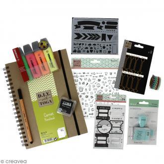Kit complet Bullet Journal - A4
