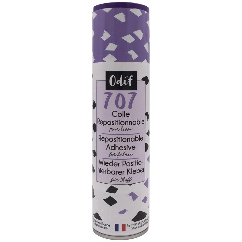 Colle repositionnable pour tissu 707 - 250 ml - Photo n°1