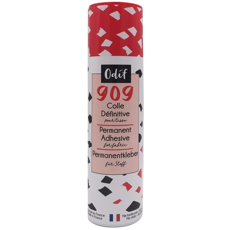 colle en spray tissu
