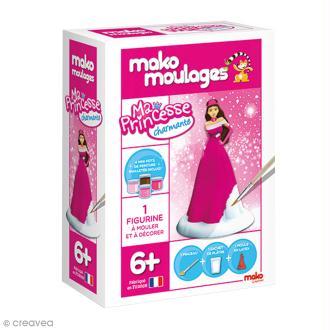 Coffret moulage en plâtre - Ma princesse charmante - Mako moulages - 1 moule