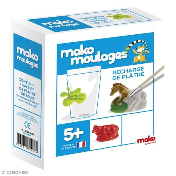 Recharge de plâtre Mako Moulages - 800g - Photo n°1