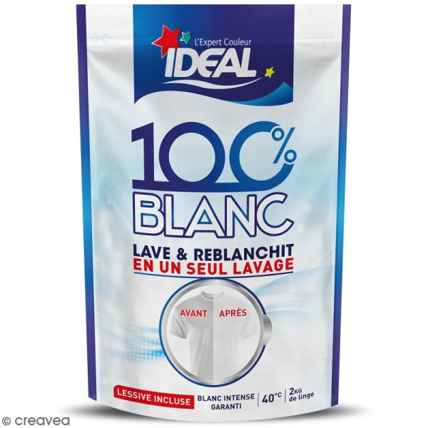 Reblanchisseur Idéal 100% blanc - Photo n°1