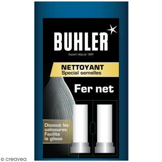 Nettoyant Buhler Spécial semelles - Fer net - 2 bâtonnets