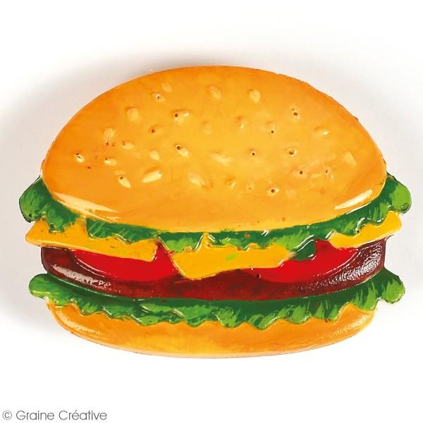 Moule en silicone Junk Food - 20 x 13 cm - 12 formes - Photo n°4