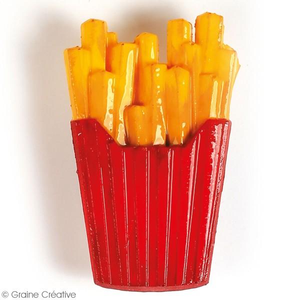 Moule en silicone Junk Food - 20 x 13 cm - 12 formes - Photo n°6