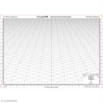 Grille de perspective Graph'it - B - A4