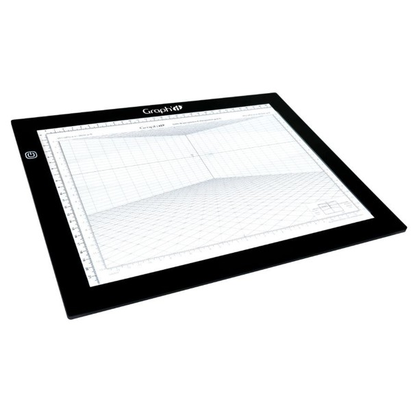 Grille de perspective Graph'it - Perspective frontale - 28 x 19 cm - Photo n°4