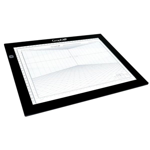Grille de perspective Graph'it - Cube oblique - 28 x 19 cm - Photo n°4