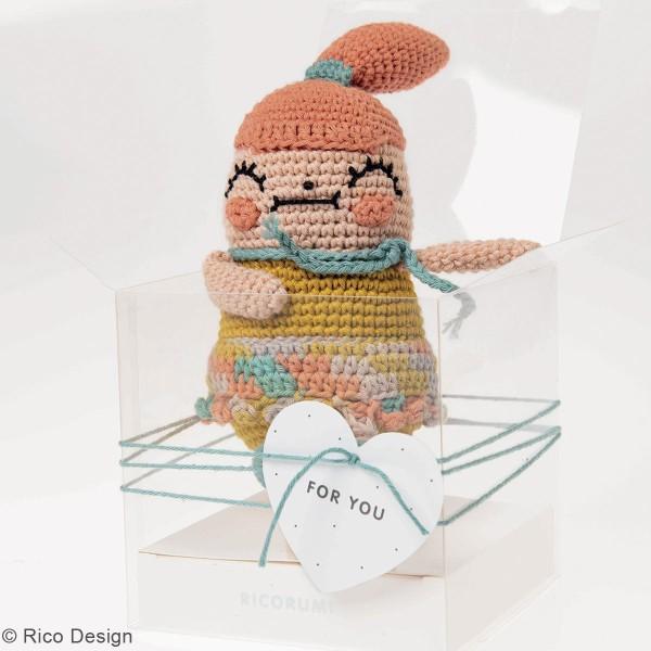 Kit crochet Ricorumi - Petite fille - Photo n°2