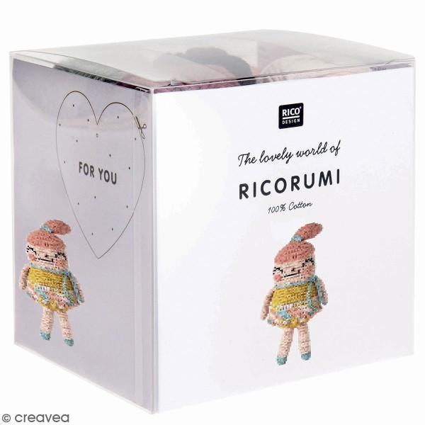 Kit crochet Ricorumi - Petite fille - Photo n°1