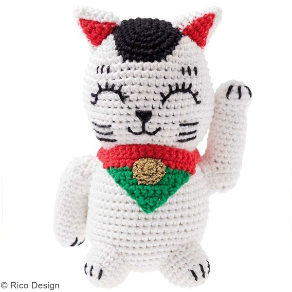 Kit crochet Ricorumi - Maneki Neko - Photo n°2