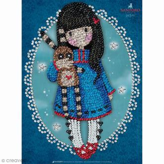 Sequin Art - Gorjuss Hush Little Bunny - Tableau 25 x 34 cm