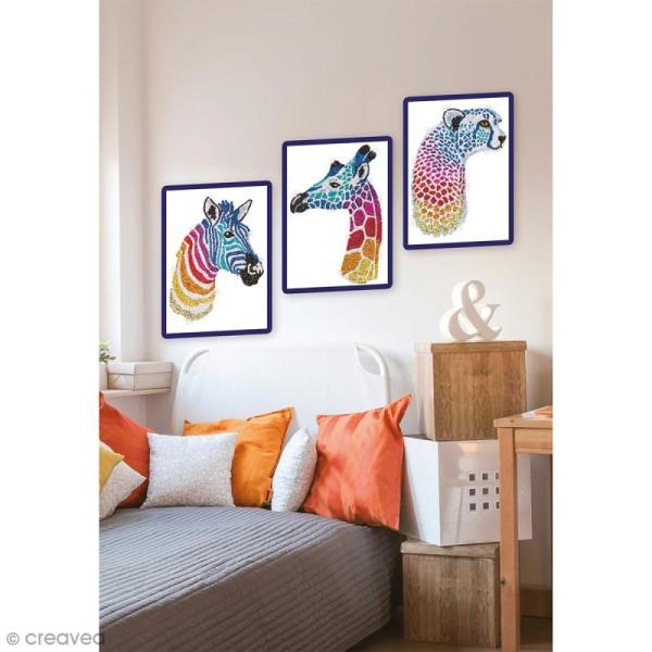 Sequin Art - Safari - Tableau 25 x 34 cm - 3 pcs - Photo n°2